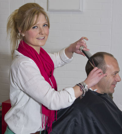 Amber, from Wem, has more than seven years' experience in hairdressing and trained in traditional cut-throat techniques while living in Australia.