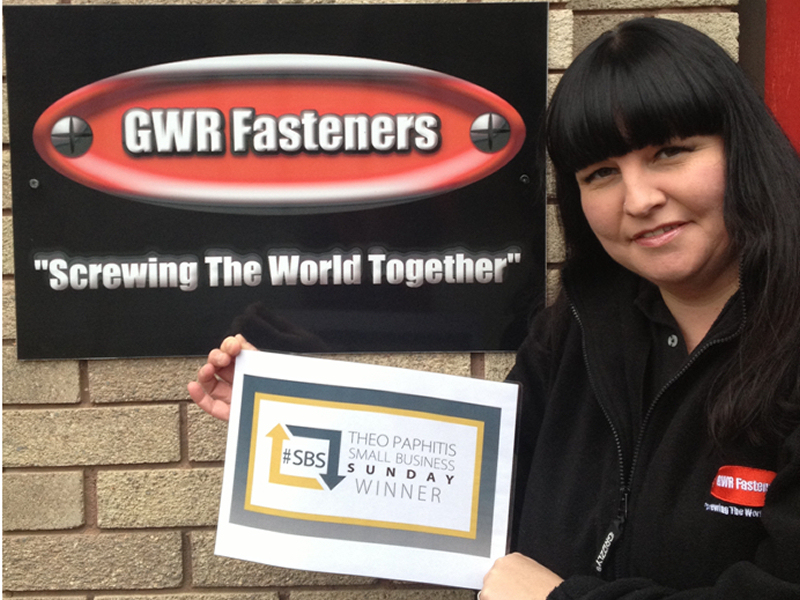 Jude Robinson, joint owner and Director of GWR Fasteners Limited.