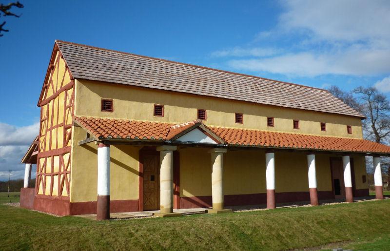 Roman Villa Shropshire