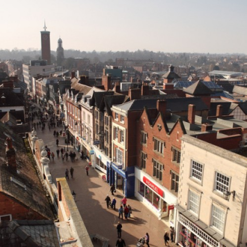 Shrewsbury tops UK's Healthiest High Streets table