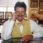 Celebrity antiques expert Tim Wonnacott.