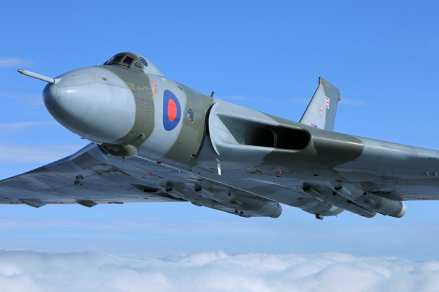 The Avro Vulcan XH558 is set to appear at the 2015 RAF Cosford Air Show. Photo: John Dibbs