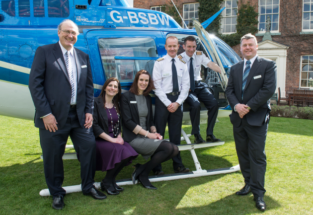 The Helitrip Team at the launch.