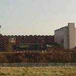 The south Silo on the flax mill site is to be demolished.