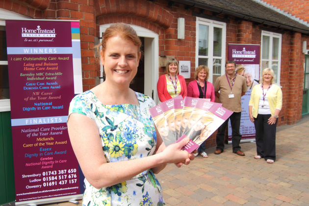 Rachael Birchall has set up a franchise with Home Instead Senior Care.