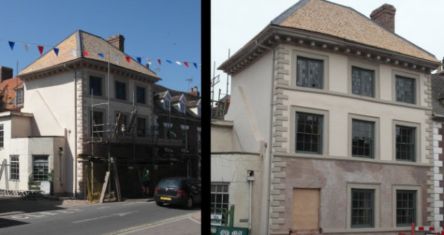 Historic Bridgnorth Building Unveiled After Conservation