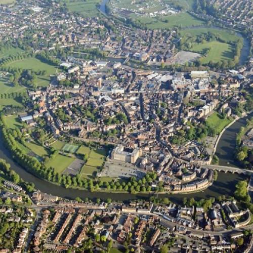Shrewsbury town centre improvement plans to go on display