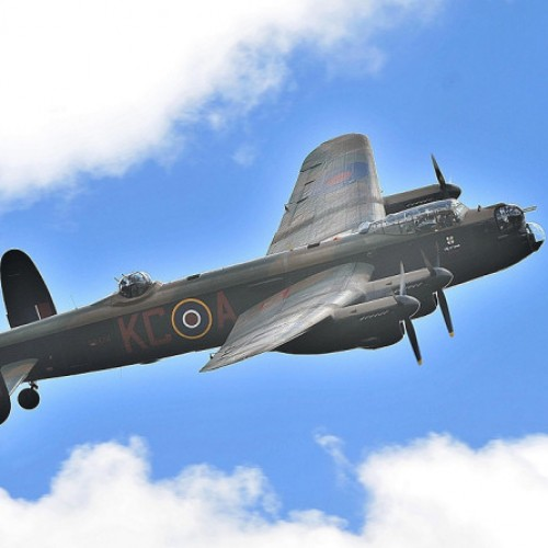 Lancaster Bomber heading to Shropshire County Show