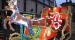 Shawbury and Mid Shropshire Rotary Santa Sleigh.