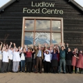 Staff at Ludlow Food Centre.