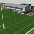 Artists impressions of the proposed ground. Photo: Tweedale.