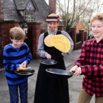 Pancake Flipping at Blists Hill Victorian Town