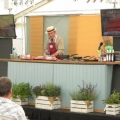 Visitors to last year's Cosford Food Festival enjoy a demonstration from Robinson's Butchers.