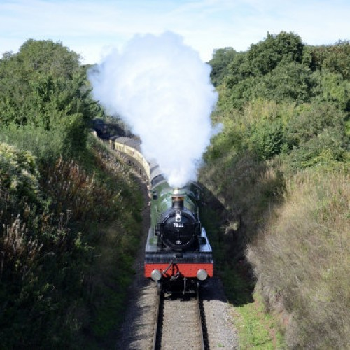 Dunne votes for Severn Valley Railway in Countryfile Awards