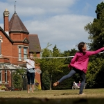 Children enjoy playing at Sunnycroft. Photo: National Trust.