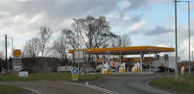 Burglars target sutton maddock garage shropshire live - Find nearest shell garage ...