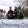 Amy Stubbs (Signal 107), Lucy Evans (Lilleshall Hall Golf Club), Tim Shrosbree (director of Shrosbree Golf) , Joseph Whelan (X-Factor star) and Tom Campbell (Signal 107).