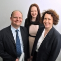 Alasdair Hobbs, Katie Gray and Lynn Hobbs, all of Excello Law.