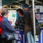 A street poll was carried out in Oswestry town centre over the weekend.