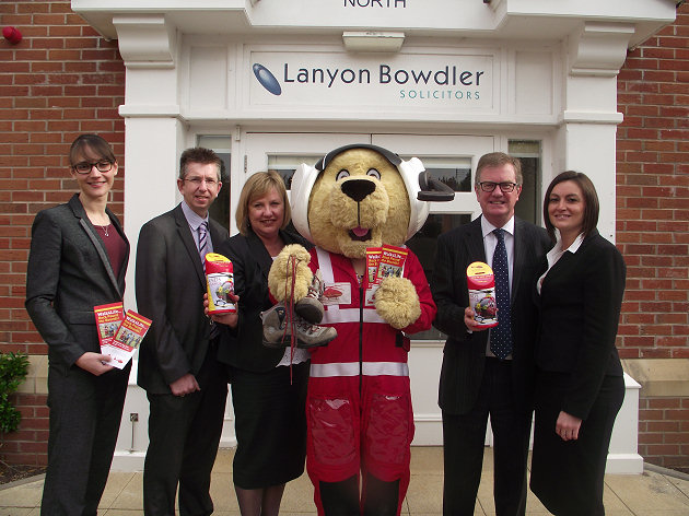 Beth Harrison, Neil Lorimer, Kay Kelly, ?Maac?, David Battisby (Managing Partner) and Sophie Davies.