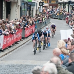 Spectators line Shrewsbury Grand Prix route during the 2014 event. Photo: Steven Oliver