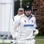 Shropshire batsman Steve Leach.