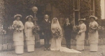 Thomas Offley and Muriel Lander wedding party. Photo: National Trust.