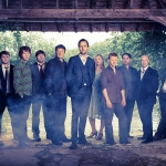British folk group Bellowhead will be headlining Shrewsbury Folk Festival.