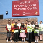 Junior Street Champions from Old Park Primary School in Malinslee.