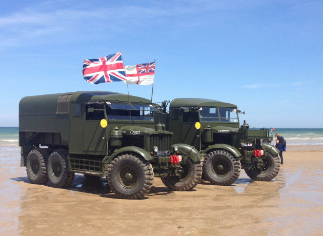 Image result for d day vehicles arromanches beach