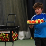 Young player Freddie Roberts will take part in Tennis Shropshire's Junior County Closed Championships.