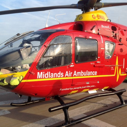 Man airlifted after being kicked by a cow near Bridgnorth