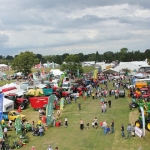Thousands of people attended last year's show. Photo: Oswestry Show.