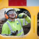 Severn Trent - Engineer on site