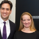 Dr. Laura Davies with Labour Leader Ed Miliband