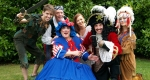 Dean Bray (Peter Pan), Eric Smith, (Eric the Pirate), Brad Fitt (Mrs Smee), Alice Strachan (Wendy) and Kara