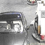 Police are keen to identify a man who was seen on CCTV filling up the car at Shifnal Services.