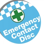 Emergency Contact Disc