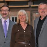 Jon Simcock, Sarah-Jane Smith and Carl Jones