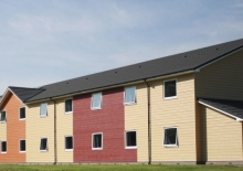 The 116-bedroom guest block at PGL Travel's flagship site in Swindon