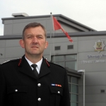 Deputy Chief Fire Officer Rod Hammerton urges extra vigilance during the firefighters' strike