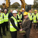 Filtermist celebrated the first step of moving to their new home with a sod cutting event