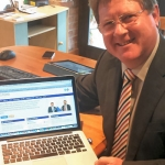 Telford Business Partnership Chairman, Robin Melley, takes a look at the brand new website