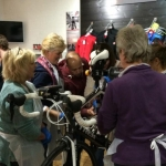 Female cyclists learn how to keep their bikes in tip top condition