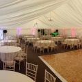 The new marquee at The Shropshire Golf Centre
