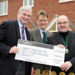 Keith Barrow - Head of Shropshire Council, Jake Berriman - Chief Executive of Shropshire Housing Group, and Greg Hickman - Chair of Whittington Parish Council