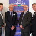 Simon Williams of Arrivista Ltd, Roger Smith of Sterling Business Solutions, Rob Andrews of andrews ritson and Mark Pilsbury also of Sterling