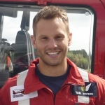 Tom Waters is a critical care paramedic who works on the Midlands Air Ambulance based at Cosford. Photo: Chris Pritchard