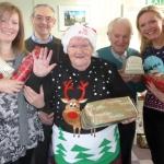 Jenny Smith, of Age UK, Terry Adams, Betty Endicott, Alan Instone and Jenny Ballantine, of Home Instead Senior Care Telford, Newport and Bridgnorth