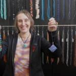 Art jewellery designer Crystal Clarke
